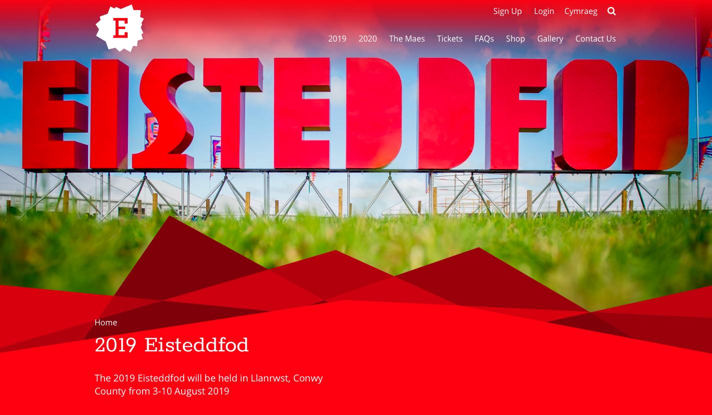 Image result for eisteddfod 2019